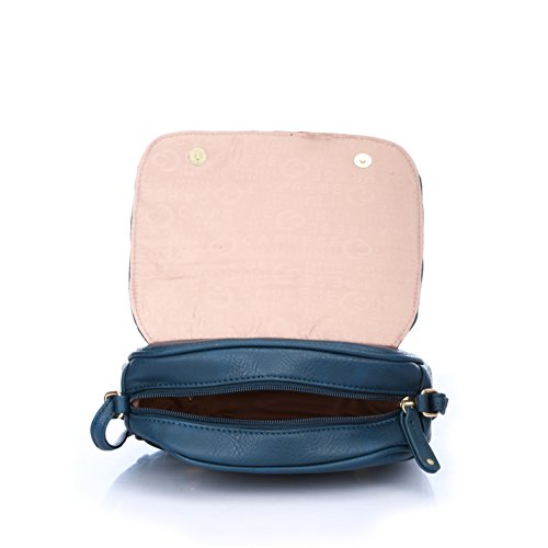 627fc0270 Caprese Women s Sling Bag (Blue) - Compare With Ease