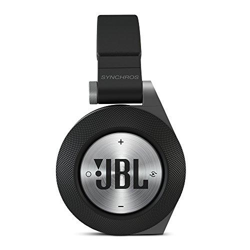 JBL E50 BT Wireless Bluetooth Over-Ear Stereo-Kopfhörer (Integrierter Fernbedienung/Mikrofonsteuerung, ShareMe Technologie, PureBass-Leistung, Kompatibel mit Apple iOS/Android Geräten) schwarz - 6