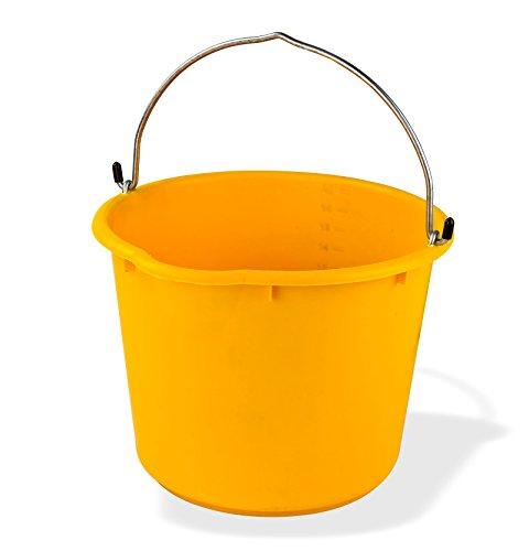 DEMA Baueimer 20 ltr. gelb kranbar
