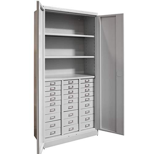 ADB Schubladenschrank Werkzeugschrank Materialschrank Schrank mit 27 Schubladen 1790x800x410 mm...
