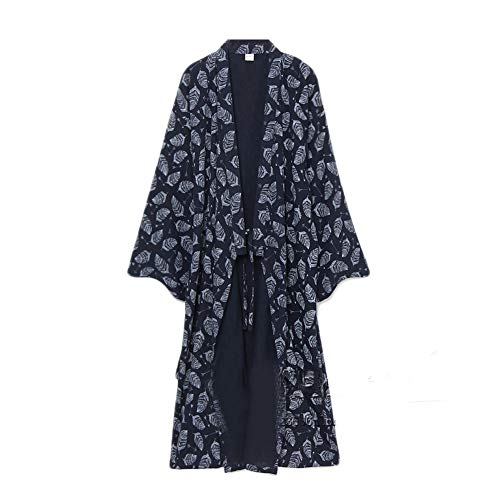 Fancy pumpkin yukata robes da uomo kimono robe khan steamed clothing pigiama [taglia m]