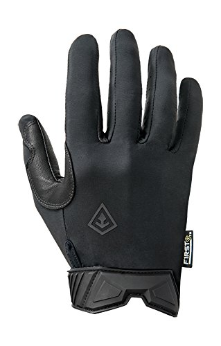 First Tactical Lightweight Patrol Glove, Schwarz, S (Leder Herren Bike Handschuh)