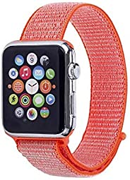SOLDOUT™ Sports Nylon Strap Soft Breathable Replacement Strap Sport Loop Compatible With Applle Watch Series 5