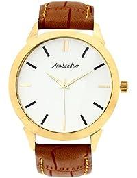 Armbandsur Analog Golden Dial Men's Watch-ABS0002MGB