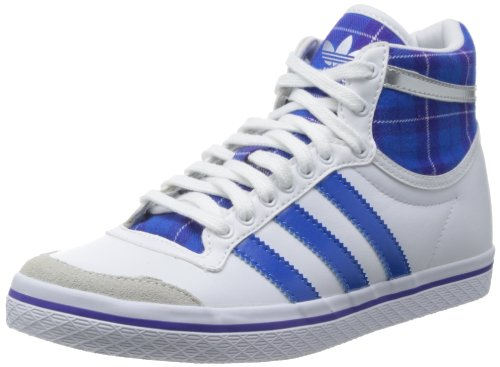 adidas  Top Ten Vulc Valentine, High-top femme Blanc - Weiß (Running White Ftw/Bluebird/Blast Purple F13)