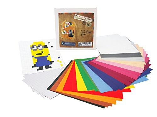 12800Aufkleber Sticker Selbstklebend–Die Manufaktur des Pixel–Pixel Kunst, Kreativset, Mosaik, Fun.–Erstellen Sie bis unendlich Alles, Kunst Ihnen gleicht–Collection Zink
