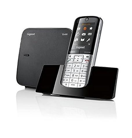 Gigaset SL400 Dect-Schnurlostelefon, extrem flach und klein,metall (High End Telefoni Cordless)
