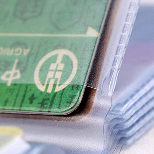 Pacchetto di carte,YanHoo Biglietto da visita del portafoglio della carta del supporto della carta del supporto della carta di cRossoito delle donne degli uomini Borse Donna Elegante borse pelle