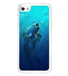 Fuson Designer Back Case Cover for Apple iPhone 5c (Fish Pisces dangerous Piranha Hunting)