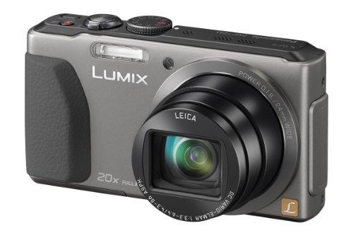 Panasonic DMC-TZ41EG9S Digitalkamera (18,1 Megapixel, 20-fach opt. Zoom, 7,5 cm (3 Zoll) Touchscreen, 5-Achsen bildstabilisator) silber