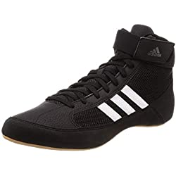 adidas AQ3325, Zapatos de Lucha Unisex Adulto, Negro (Black), 41 1/3 EU