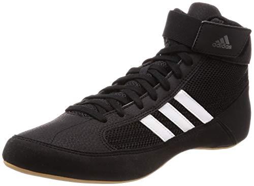 adidas Unisex-Erwachsene Havoc AQ3325 Wrestlingschuhe, Schwarz (Black), 43 1/3 EU