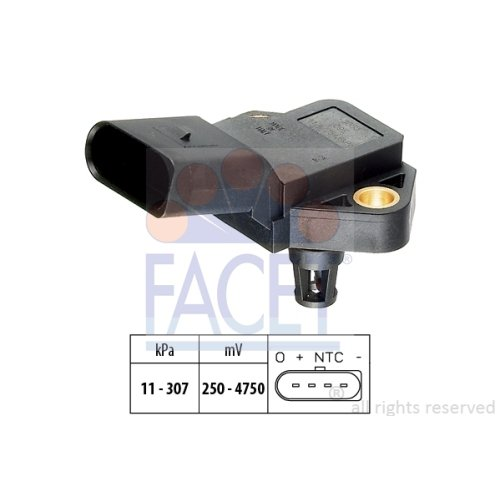 FACET Luftdrucksensor für Höhenanpassung, 10.3075