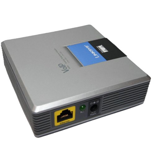 Cisco/Linksys - Linksys UNLOCKED LINKSYS SPA3000 SIP VOIP FXS FXO PHO - UK/EU Power supply