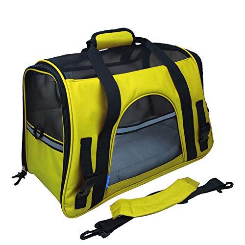 Adenlbahr Transporttasche Für Haustiere, Weiche Seitenteile,Hunde Tragetaschen Transporttasche Katze Atmungsaktiven Netzfenster Für Kleinen Hund Welpen Katze Etc-#M16 -