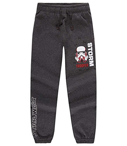 Star Wars-The Clone Wars Darth Vader Jedi Yoda Ragazzi Pantaloni da jogging - grigio - 140