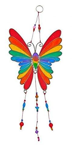 Butterfly Suncatcher Rainbow Colour