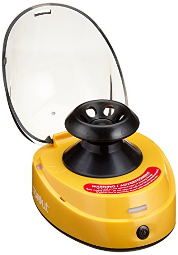 Heathrow Scientific Sprout HD120395 - Mini centrifuga compatta, colore: giallo