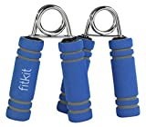 #8: Fitkit FK97002 Foam Hand Grip Pair (Blue)