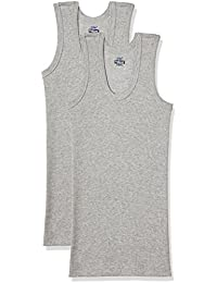Dollar Bigboss Men's Cotton Vest (Pack Of 3) (8902889480640_MDVE-02-BB-DERBY-GREY MELANGE_80_Grey Melange)