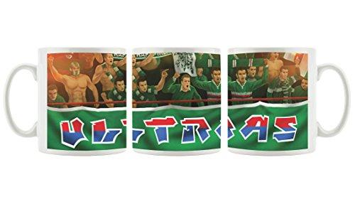 RapidFans als bedruckte Kaffeetasse / Teetasse aus Keramik, 300ml, weiß