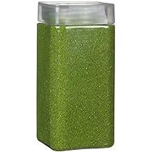 Streudeko RU1-19 * Dekosand dunkelgrün 2 kg Farbsand zum Basteln