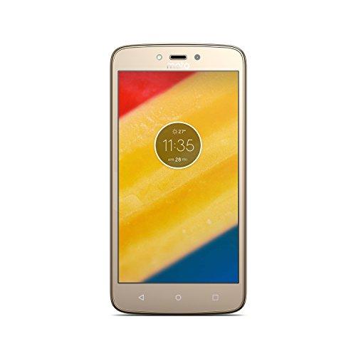 Motorola Moto C Plus Smartphone, Memoria Interna da 16 GB, Whole Gold