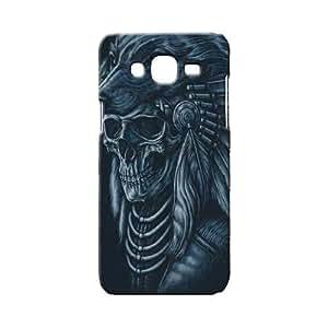 BLUEDIO Designer 3D Printed Back case cover for Samsung Galaxy J2 - G4402
