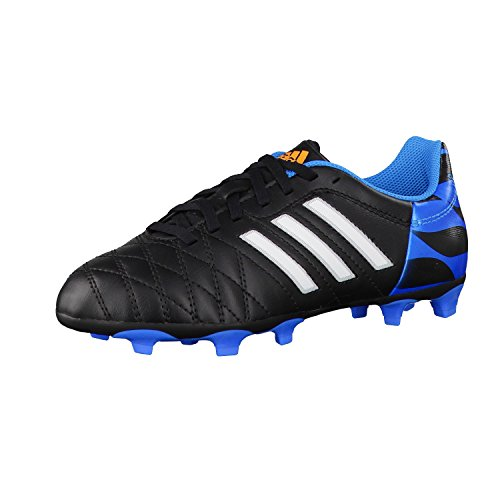 Adidas - 11QUESTRA FG J - Color: Black-White - Size: 5.0UK