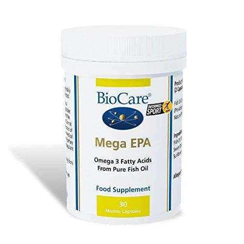 Biocare | Mega EPA (EPA/DHA fish oil concentrate) 30 caps | 5 x 30 capsule (DE) -