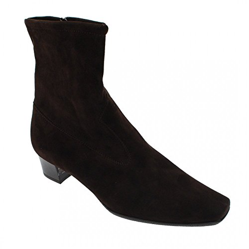 Peter Kaiser Suede Ankle Boot Brown Suede