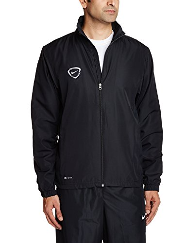 Nike Men's Polyester Tracksuit (887227116390_544902-011_X-Large_Black and White)