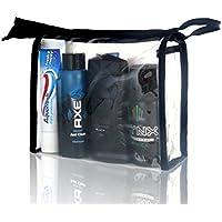 Lynx vacanza Festival Wash Bag per uomini, deodorante, Doccia, capelli,