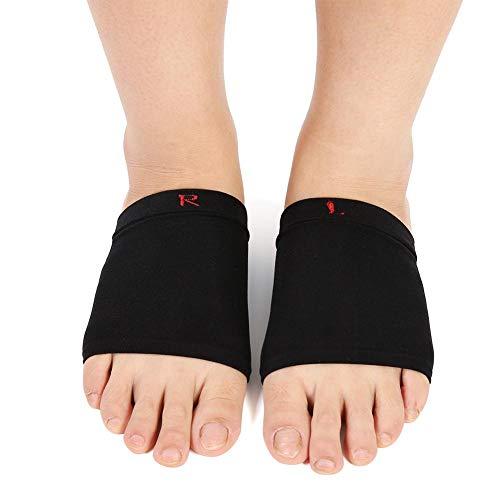 Gel Pads Orthesen Fuß Bogen Silikon Bogen Hülsen Verband Unterstützung Flatfoot Massage Orthesen mit Komfort Gel Kissen -