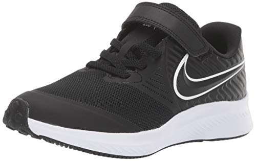 Nike Star Runner 2 PSV, Zapatillas de Running Unisex Niños, Negro Black/White/Black/Volt 001, 35...