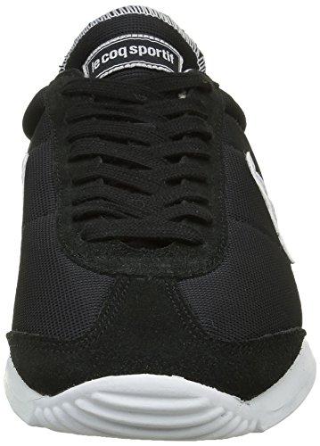 Le Coq Sportif Quartz, Baskets Basses Mixte Adulte Noir (Black)