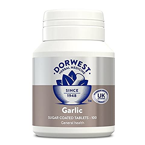Dorwest Herbs Garlic Tablets for Dogs and Cats 100
