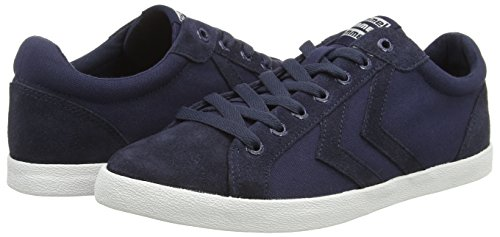 Hummel Unisex-Erwachsene Deuce Court Canvas Sneaker Blau (Dress Blue)