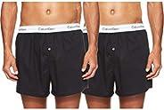 Calvin Klein Men's Boxer Slim 2 Pack Boxer S