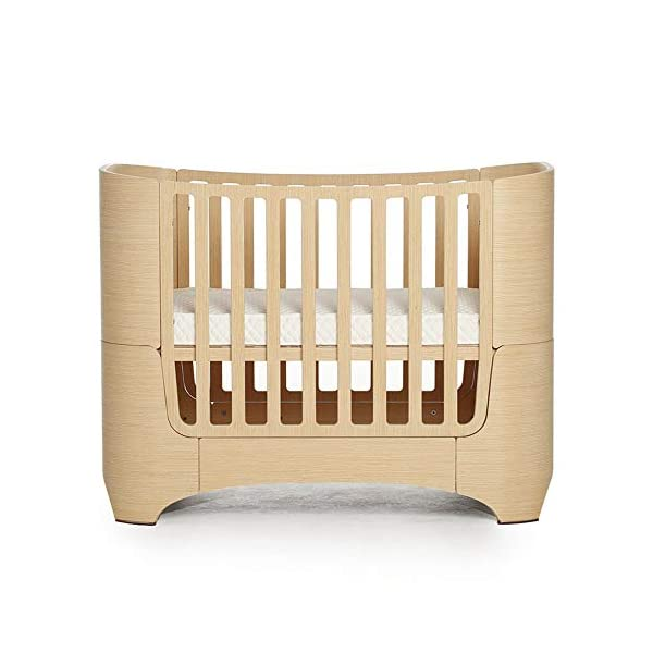 VBARV 4-in-1 baby cot, height adjustable children's play cot, multifunctional 0-12 year-old changing bed, fixed side cot, solid pine structure Children's bedroom furniture VBARV Easy-to-use design: Convertible cribs on the fixed side make it easy to convert a crib from a crib to a toddler / day bed or even an entire bed! This versatile crib will provide your child with a comfortable place to sleep from infancy to adolescence. Adjustable Mattress Height: The convertible crib has 3 adjustable mattress heights to keep your baby safely and comfortably in bed until the adult grows up. This convertible adjustable bed will make your life unforgettable. 1