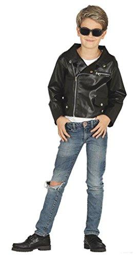 Enter-Deal-Berlin Kinderkostüm - Rocker Jacke - Größe 142-148 cm ( 10-12 Jahre )