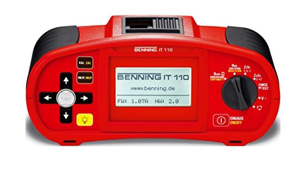 Benning Installationsprüfgerät It110 Elektronik