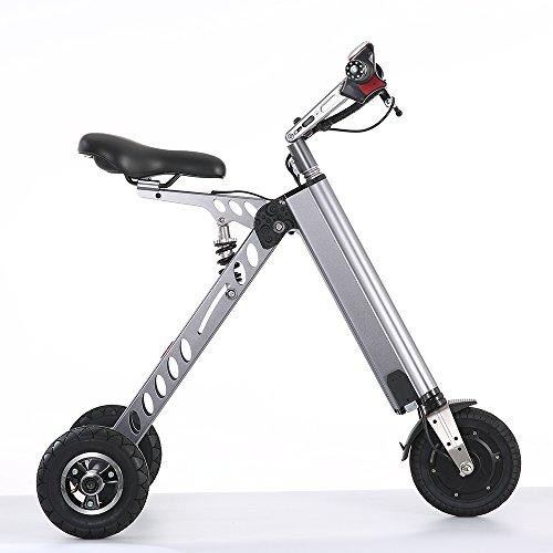 TopMate e-Bike Pedelec Elektro-Fahrrad City Elektrisches Fahrrad Klapprad Elektromotor