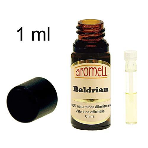 Baldrian - 100{ec362f8b1c55a7ae9354fd52dd9f7cedc8e2ec2a73202c077f8e100625dc53e3} naturreines, ätherisches Öl aus China, 1 ml