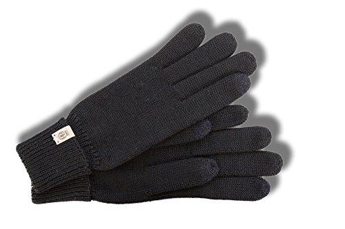 Touch Fingerhandschuhe Damen Handschuhe Damenhandschuhe für Touchscreens Roeckl Fingerhandschuhe Strickhandschuhe (M - schwarz)
