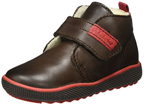 Naturino Baby Jungen 5210 VL Sneaker, Braun (Ebenholz), 30 EU