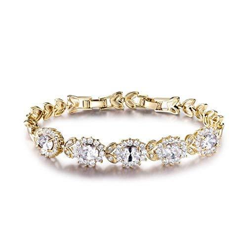 """GULICX Bracelet Femme/Fille""""Fleur De DIANA..."""