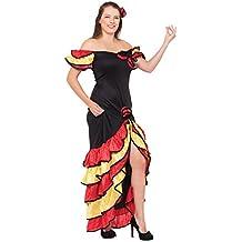 Bristol Novelty AC595 Costume Vestito da Flamenco Spagnolo 1b993c0d9274