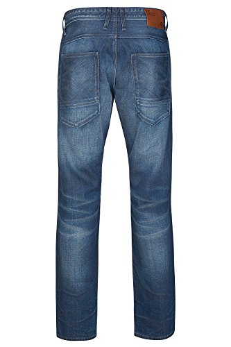 JACK & JONES Boxy Leed 1005 Jeans Bleu de Brown Étiquette Hommes 12117422 Blau