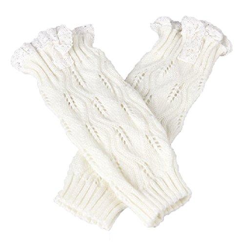 Vococal Niñas Crochet Punto Encaje Trim Arranque